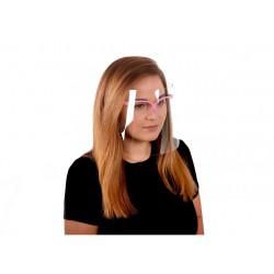 Przyłbica z okularami