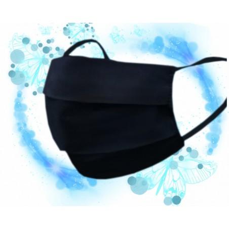 Maseczki bawełniane czarne